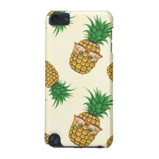 Pineapples with Sunglasses Hand Painted iPod Touch 5G Cover