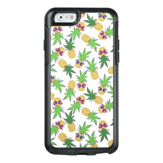 Pineapples with Sunglasses Pattern OtterBox iPhone 6/6s Case