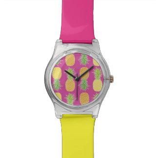 Pineapples - Wrist Watch #2