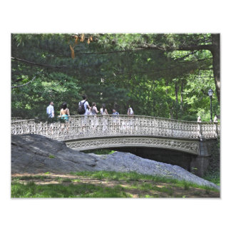 Pinebank Arch Bridge, Central Park, New York Photographic Print