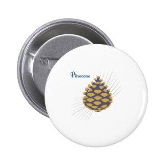 Pinecone 2 Inch Round Button