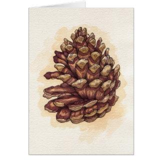 Pinecone Card