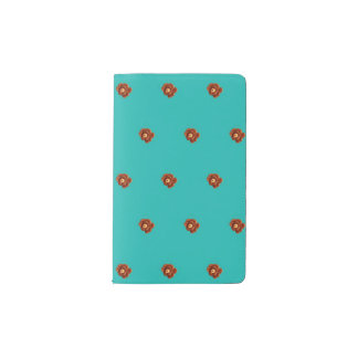 Pinecone Flower Mini Notebook