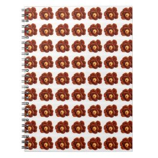 Pinecone Flower Notebook