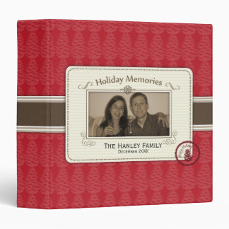 Pinecone Holiday Memories Binder