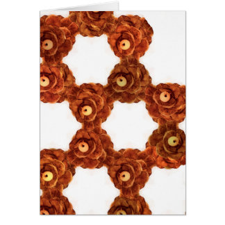 Pinecone Wreath Blank Card