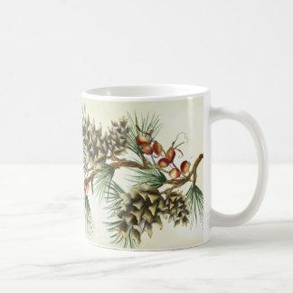 """""""Pinecones on Cream"""" Mug"""