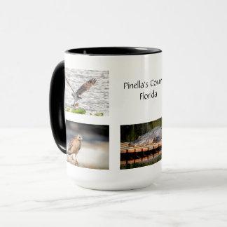 Pinella's County Florida Wildlife Mug