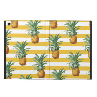 pinepples yellow stripes case for iPad air