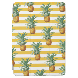 pinepples yellow stripes iPad air cover