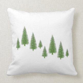 Pines Between Throw Pillow