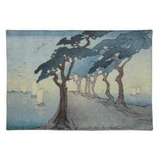 Pines by the Sea Fabric Placemat