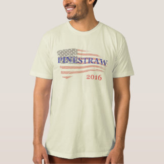 PINESTRAW 4 President 2016 Election Faded Glory T-Shirt
