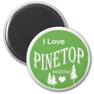 Pinetop Arizona 2 Inch Round Magnet