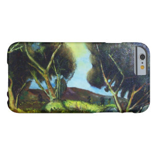 PINEWOOD IN TUSCANY Landscape Barely There iPhone 6 Case