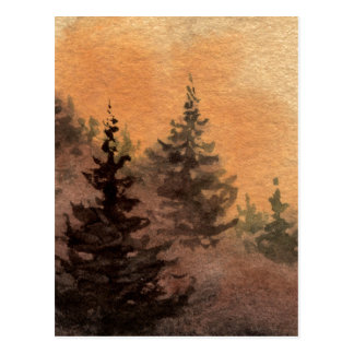 """Piney Slope"" Country Roads Postcard"