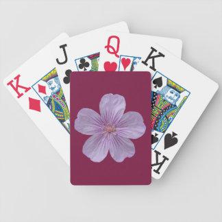 Pineywoods Geranium #1 Bicycle Playing Cards