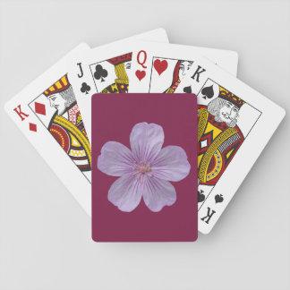 Pineywoods Geranium #1 Playing Cards