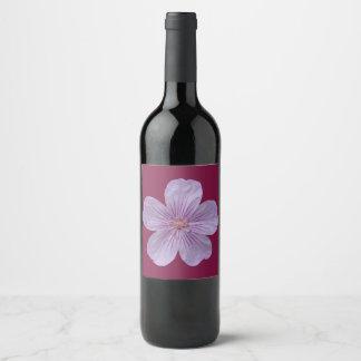 Pineywoods Geranium #1 Wine Label