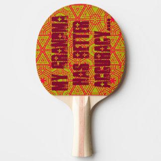 Ping-A-Tudes Ping-Pong Paddle