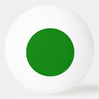 Ping Ping Ball - Plain Green Inner Circle