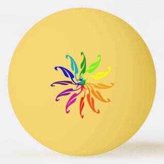 Ping Pong Ball - Colour Wheel Leaves