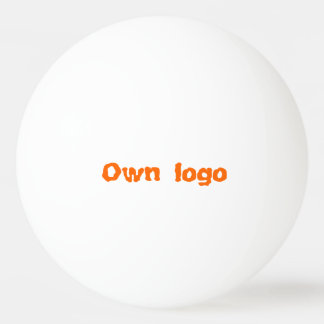 Ping Pong Ball for own logo