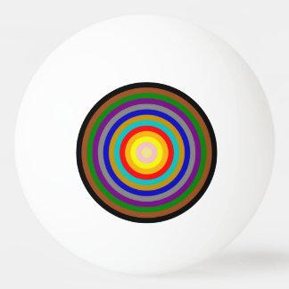Ping Pong Ball - Multicoloured Decreasing Circles