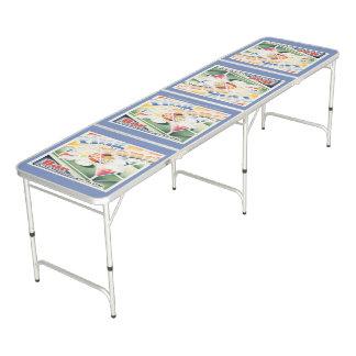 """Ping Pong Bar"" Beer Pong Table"