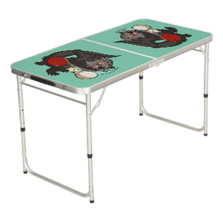 Ping Pong Binturong Table Tennis Player Bearcat