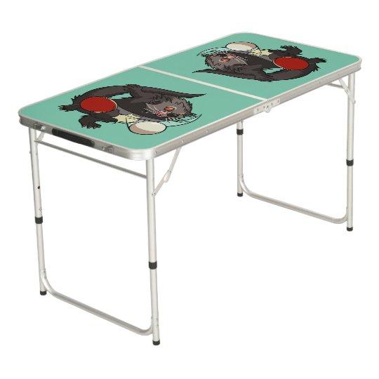 Ping Pong Binturong Table Tennis Player Bearcat Pong Table