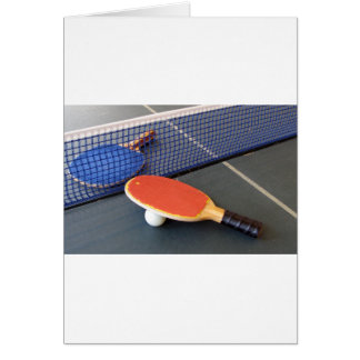 Ping Pong Card