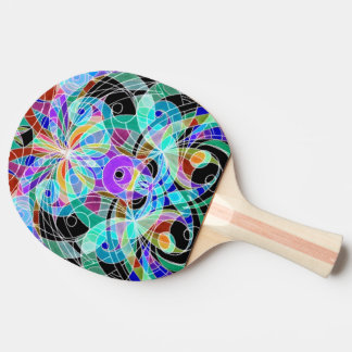 Ping Pong Paddle Ethnic Style