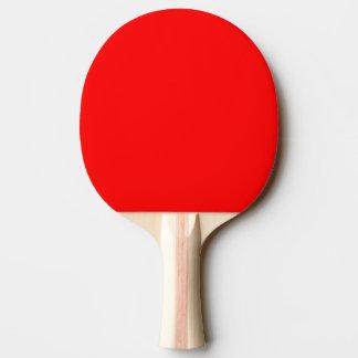 Ping Pong Paddle / Table Tennis Bat - Black/Red