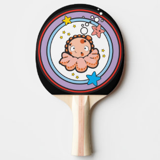 Ping Pong Paddle, White Rubber Back Ping-Pong Paddle