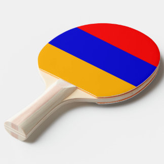 Ping pong paddle with Flag of Armenia