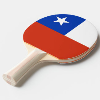Ping pong paddle with Flag of Chile