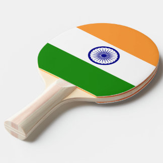 Ping pong paddle with Flag of India
