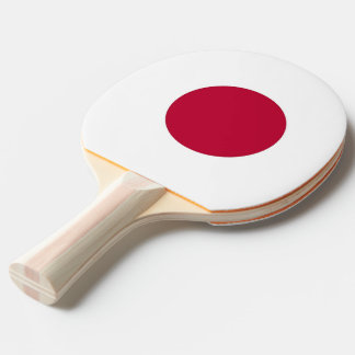 Ping pong paddle with Flag of Japan