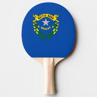 Ping pong paddle with Flag of Nevada, USA