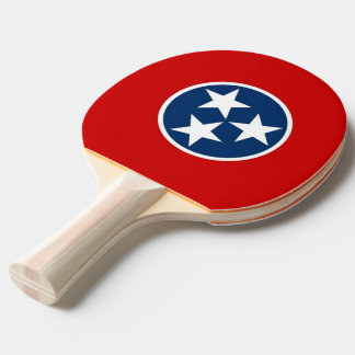 Ping pong paddle with Flag of Tennessee, USA