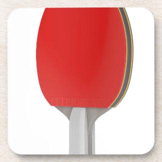 Ping pong racket coaster