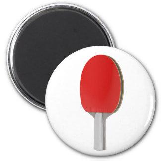 Ping pong racket magnet