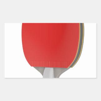Ping pong racket sticker