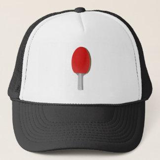 Ping pong racket trucker hat
