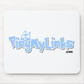 PingMyLinks Mousepad Cartoon Style