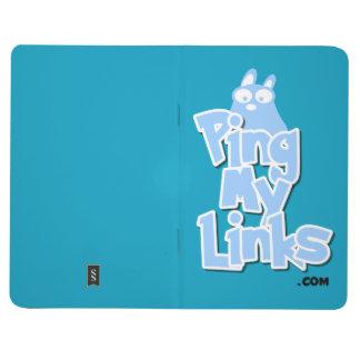 PingMyLinks Pocket Journal Cartoon Style