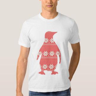 Pingouin de fête tshirts