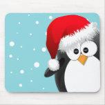 Pingouin de Noël Tapis De Souris