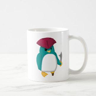 Pingouin de pirate mug